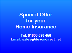 We offer a special deal for your home insurance policy